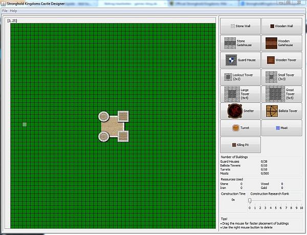 Stronghold Kingdoms Castle Designer