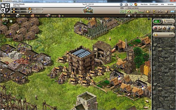 Stronghold Kingdoms Dorf