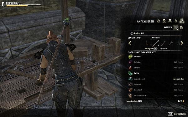 Elder Scrolls Analysieren