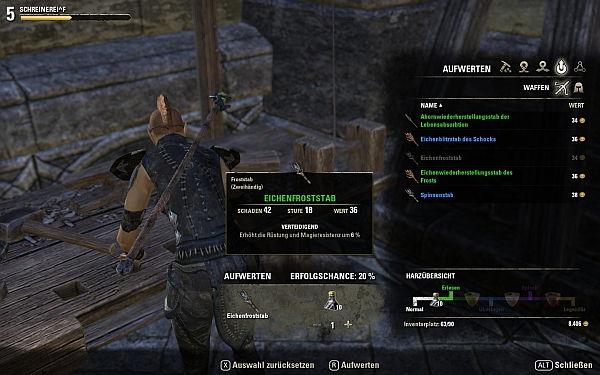 Elder Scrolls Online Aufwerten