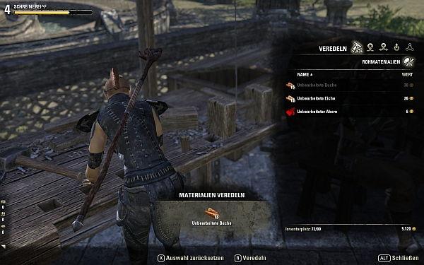 Elder Scrolls Online Veredeln