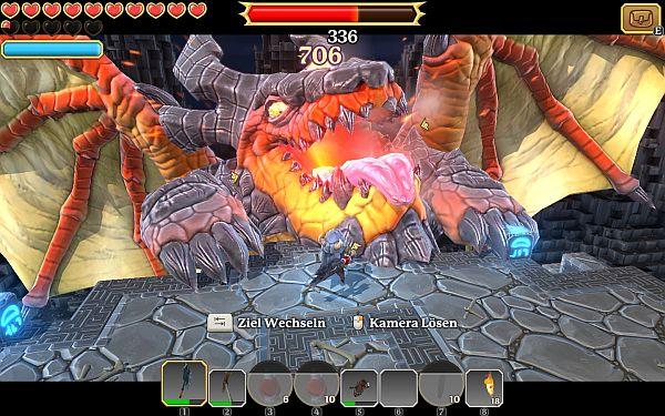 Portal Knights Drache