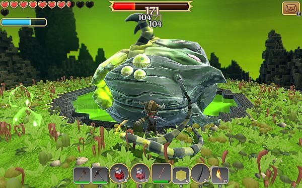 Portal Knights Wurm