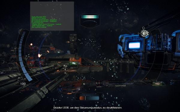 X Rebirth Drohne starten