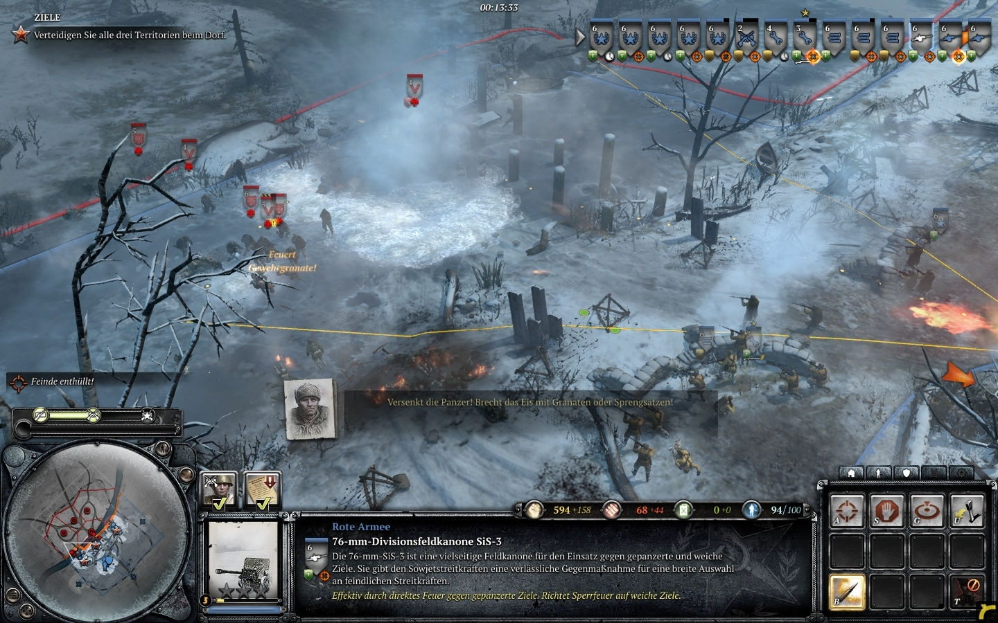 company of heroes 2 komplettl sung sowjetische kampagne. Black Bedroom Furniture Sets. Home Design Ideas