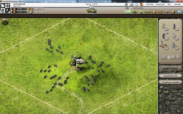 Stronghold Kingdoms Angriff