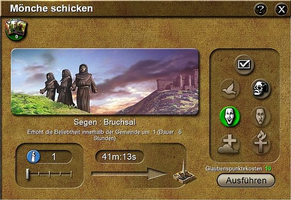 Stronghold Kingdoms Mönche