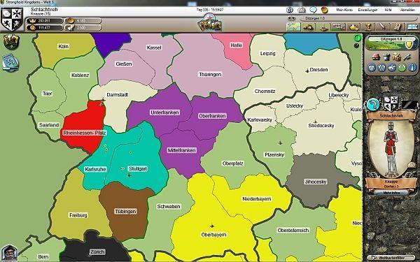 Stronghold Kingdoms Weltkarte