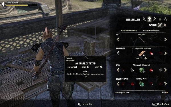 Elder Scrolls Online Herstellung