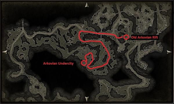 how to get to arkovian undercity
