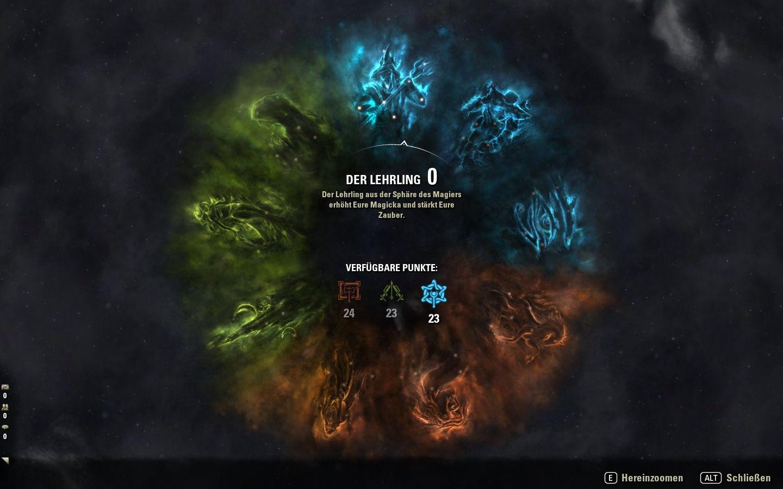 Elder Scrolls Online Guide Zum Championsystem