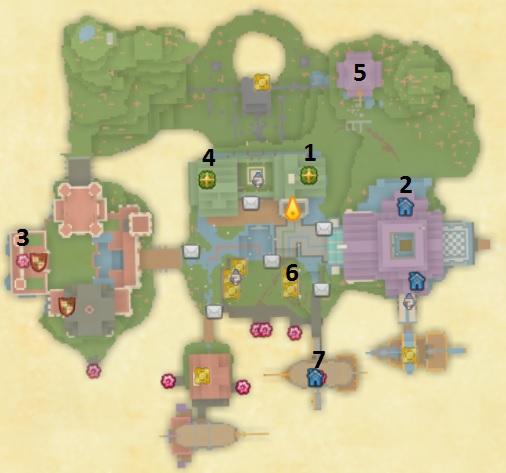 Karte Questgeber