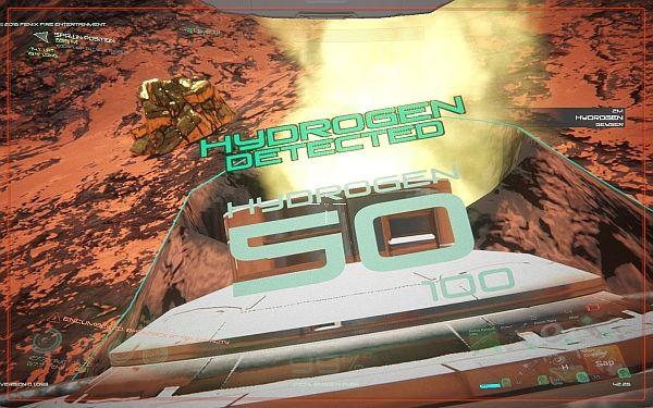 Osiris - Hydrogen sammeln