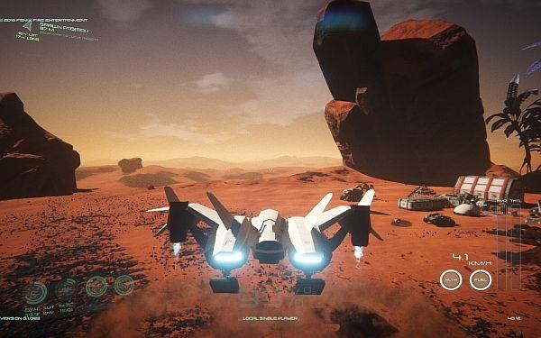 Osiris - Space Ship