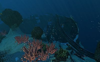 Underwater Islands Wrack