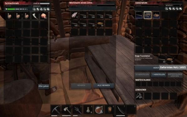Conan Exiles - Trebuchet Fundament bauen