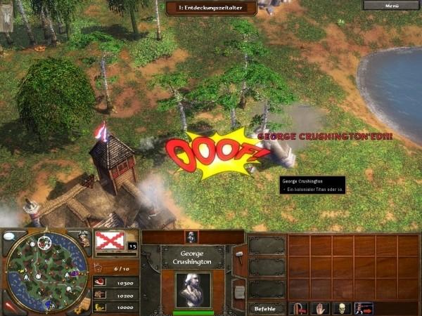 Age of Empires 3 - Cheats - George Crushington