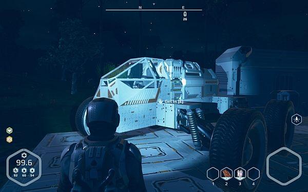 Planet Nomads - Fahrzeug
