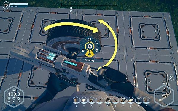 Planet Nomads - Räder konfigurieren