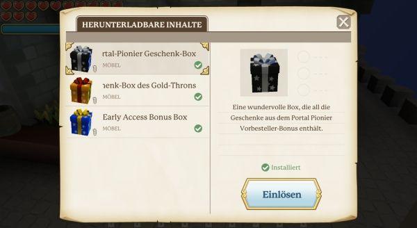 Portal Knights - DLC Shop