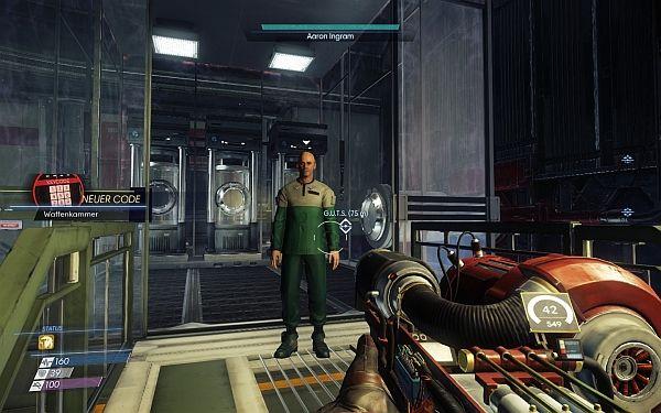 Prey - Code Waffenkammer