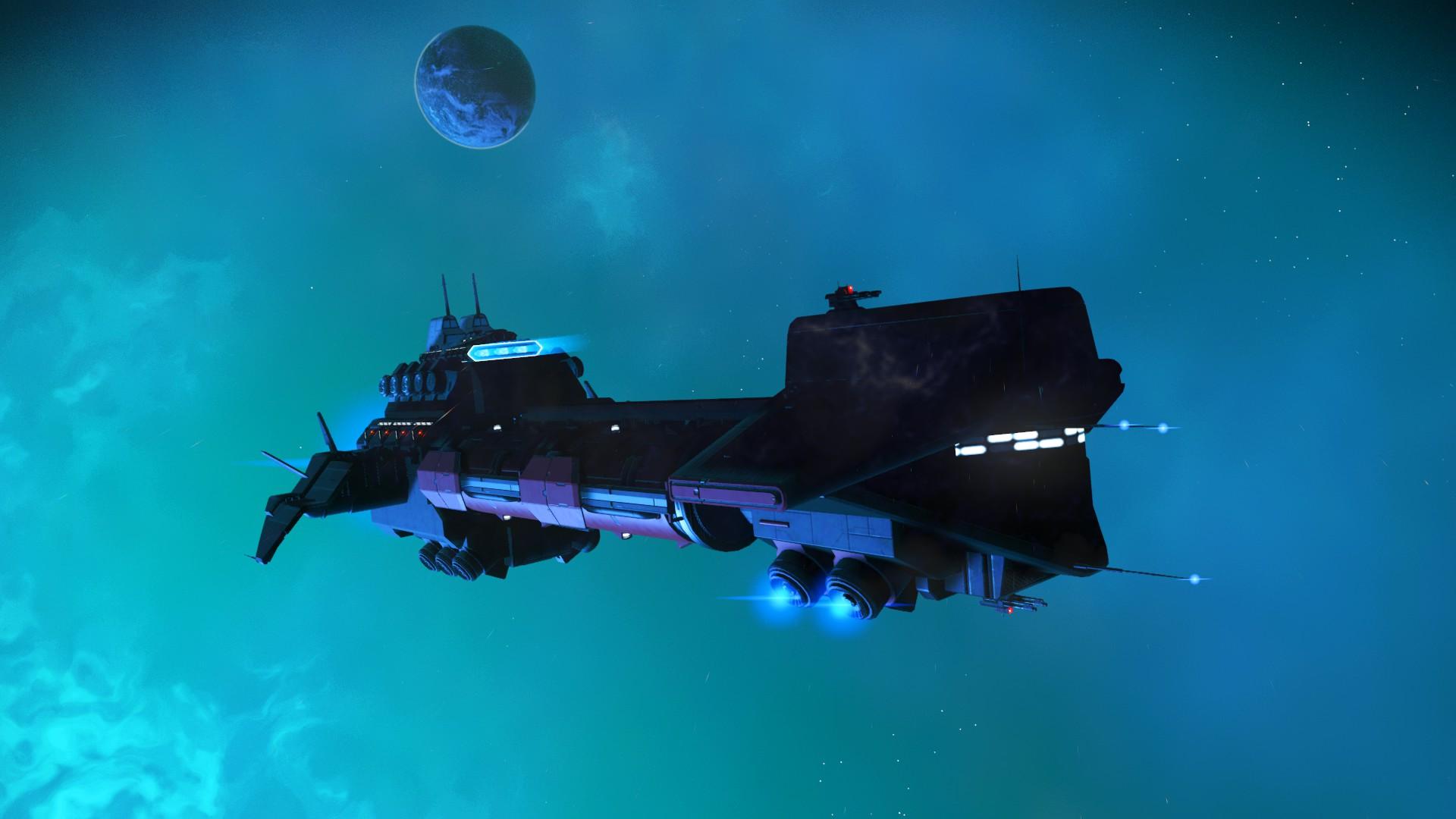 No Man's Sky - Frachter Design 1