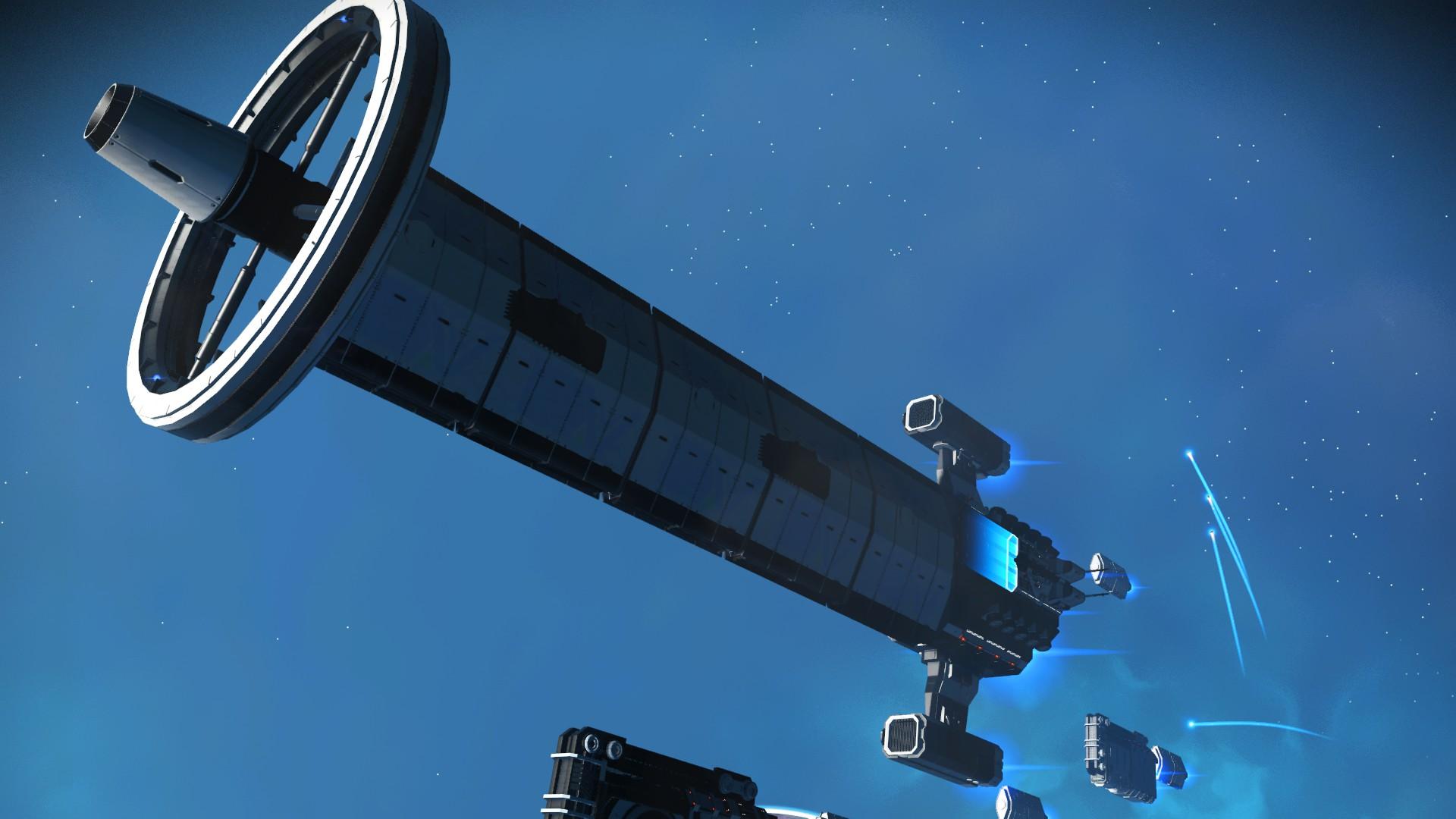 No Man's Sky - Frachter Design 2