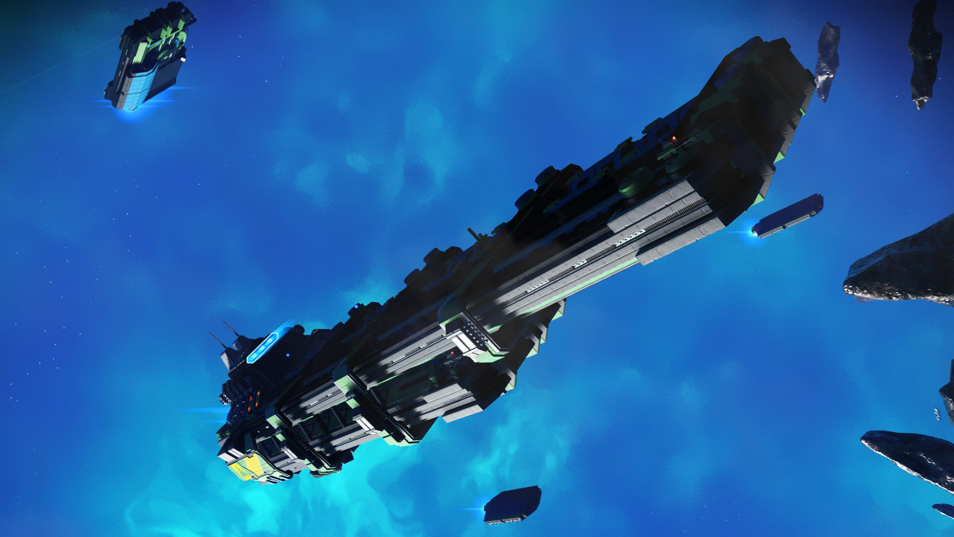 No Man's Sky - Frachter Design 6