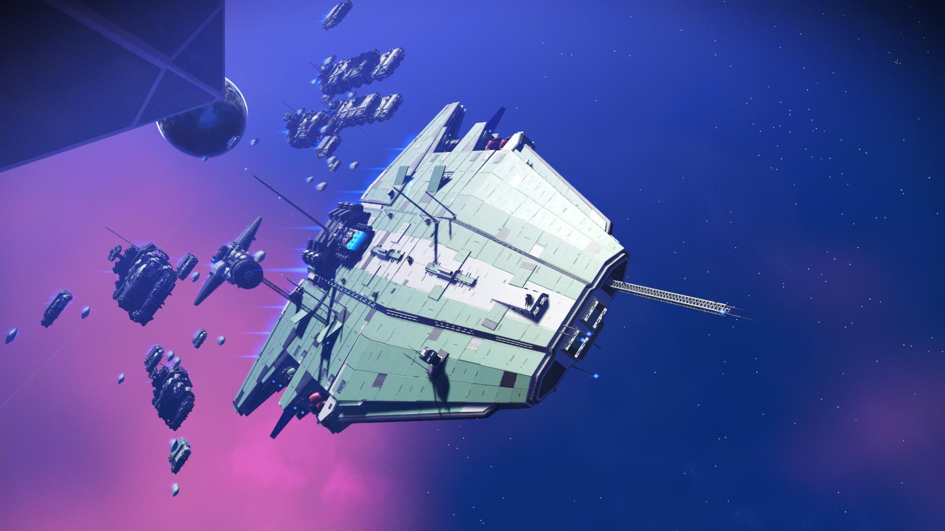 No Man's Sky - Frachter Design 7
