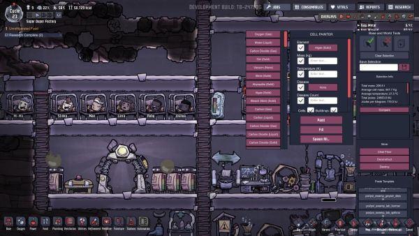 Oxygen Not Included - Cell Painter