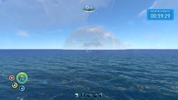 Subnautica - Landeplatz Sunbeam