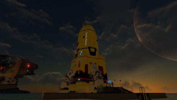 Subnautica - Neptun-Rakete