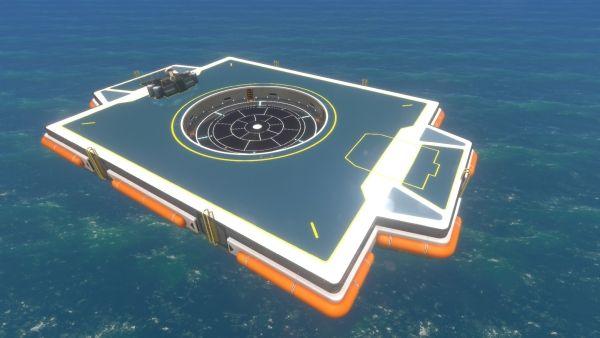 Subnautica - Neptun-Startplattform