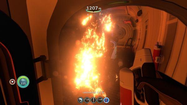 Subnautica - Feuer im Maschinenraum