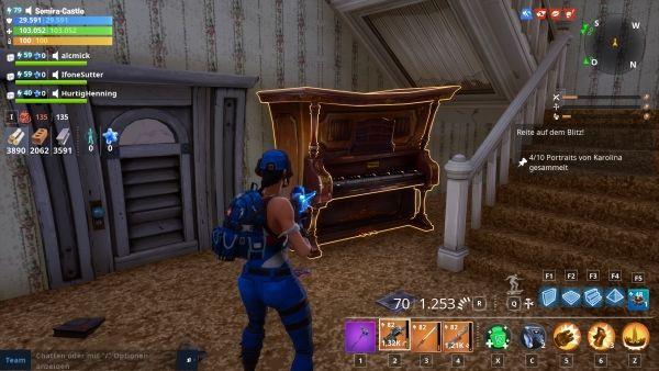Fortnite - Piano