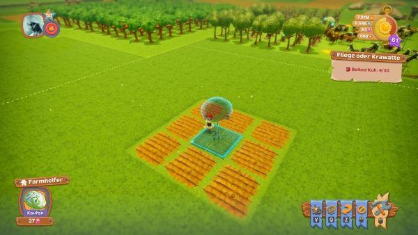 Farm Together - Farmhelfer platzieren