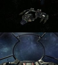 X4: Foundations - Schiffe - Eklipse Angreifer