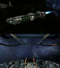 X4: Foundations - Schiffe - Merkur Angreifer