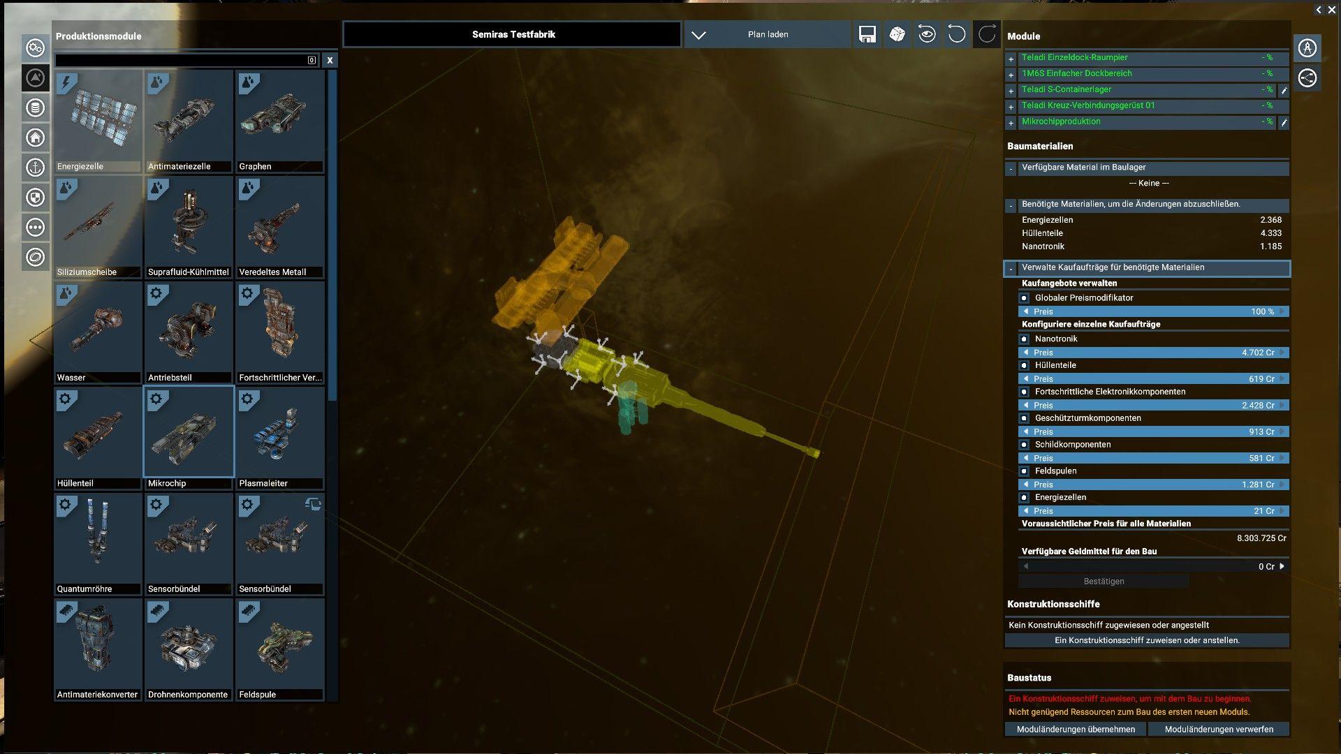 X4: Foundations – Eigene Stationen bauen und verwalten – games-blog de