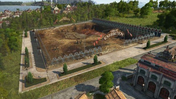 Anno 1800 - Weltausstellung Baustelle
