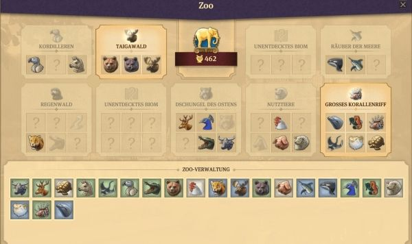Anno 1800 - Zoo Tiere Sets