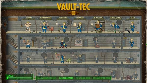 Fallout 4 - Skillpunkte Cheat