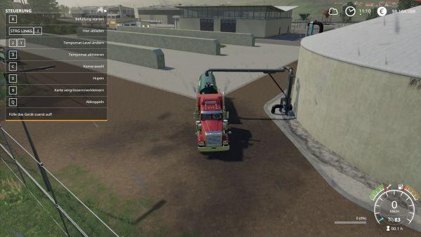 Farming Simulator 19 - Gärreste aufladen