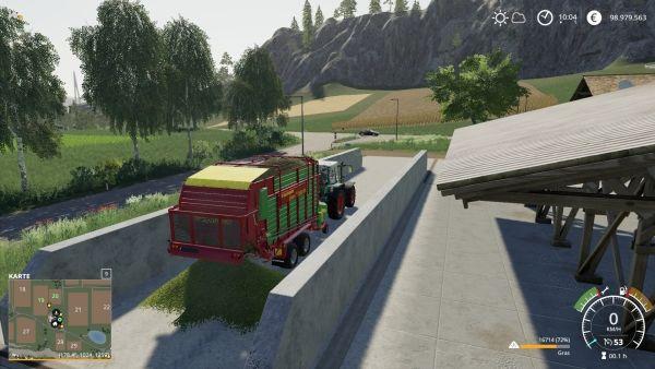 Farming Simulator 19 - Gras abladen