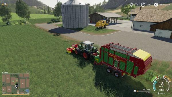 Farming Simulator 19 - Gras mähen