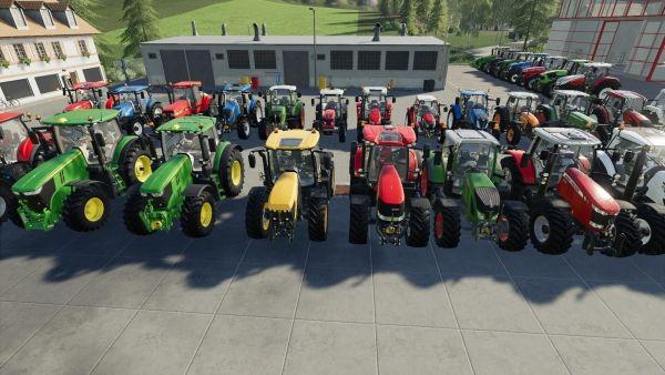 Farming Simulator 19 - Alle Traktoren