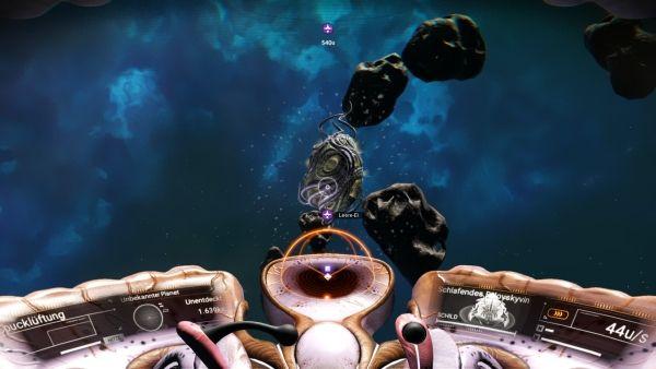 No Man's Sky Living Ships - Technologie finden