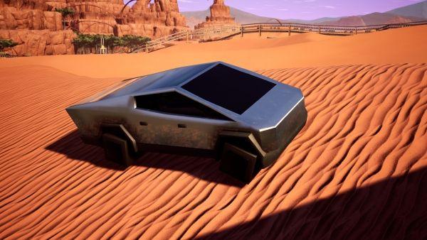Satisfactory - Cyber-Wagen freischalten