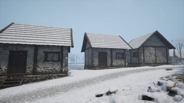 Medieval Dynasty - Verputztes Haus
