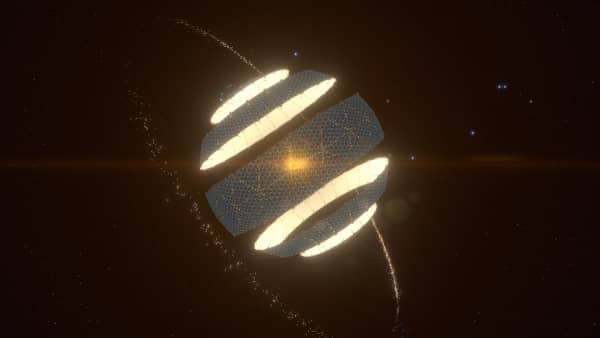 Dyson Sphere Program - Dyson Sphäre